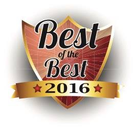 Best of the Best Award 2016